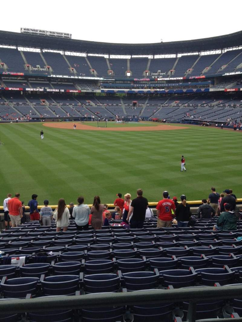 Seating view for Turner Field Section 146 Row 28 Seat 5