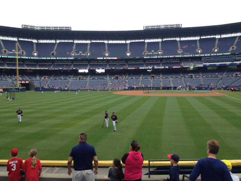 Seating view for Turner Field Section 236 Row 19 Seat 101