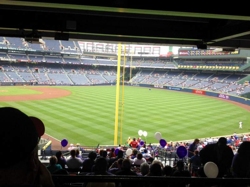 Seating view for Turner Field Section 231 Row 17 Seat 103