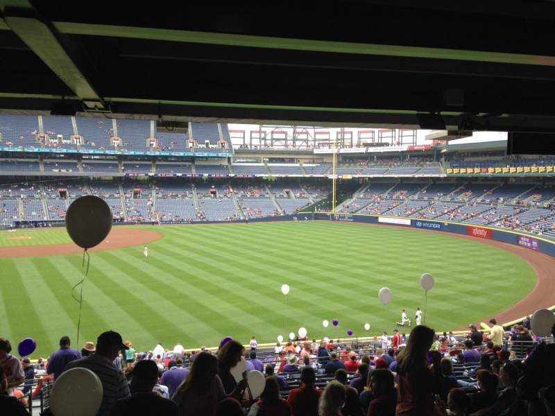Seating view for Turner Field Section 235 Row 17 Seat 1