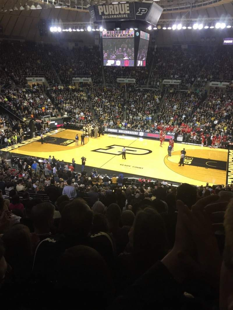 Seating view for Mackey Arena