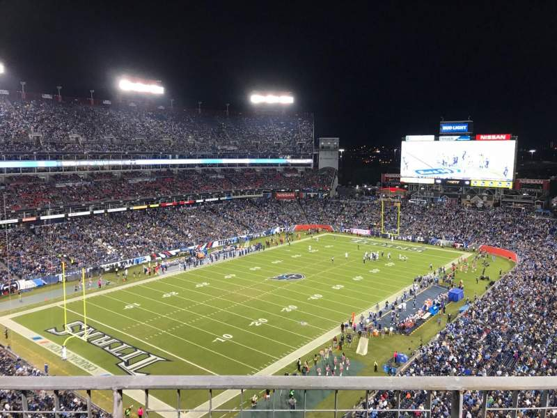 Seating view for Nissan Stadium Section 343 Row B Seat 13