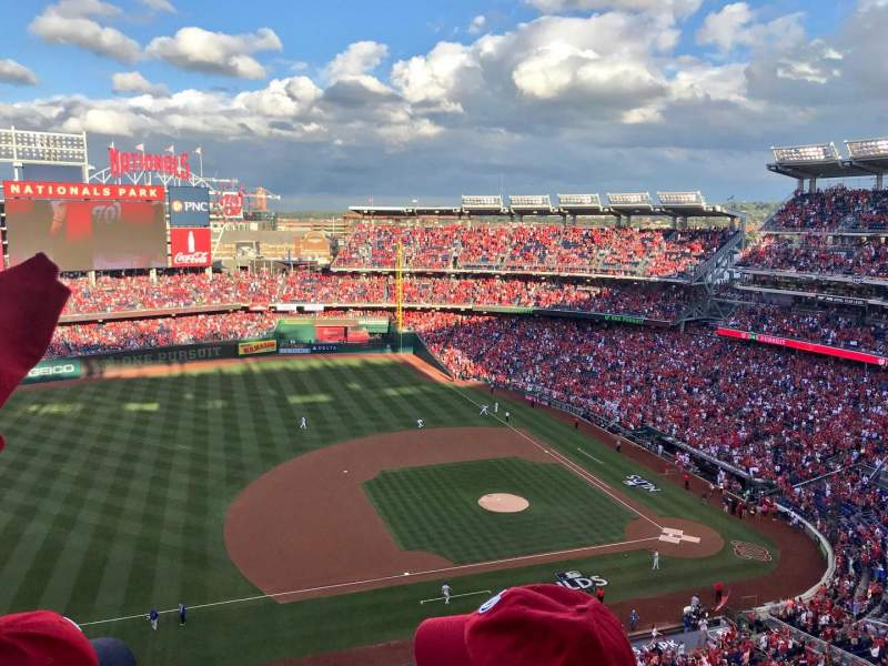 Seating view for Nationals Park Section 406 Row B