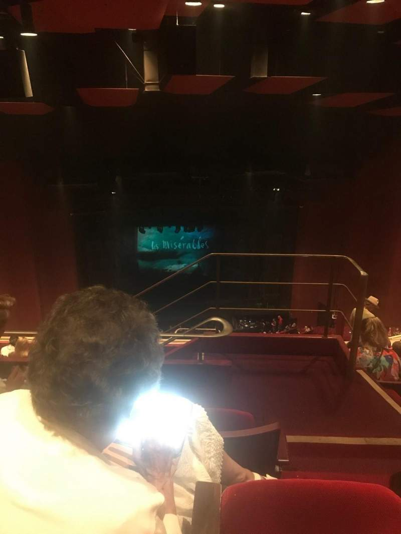 Seating view for San Diego Civic Theatre Section RBLCNY Row X Seat 17
