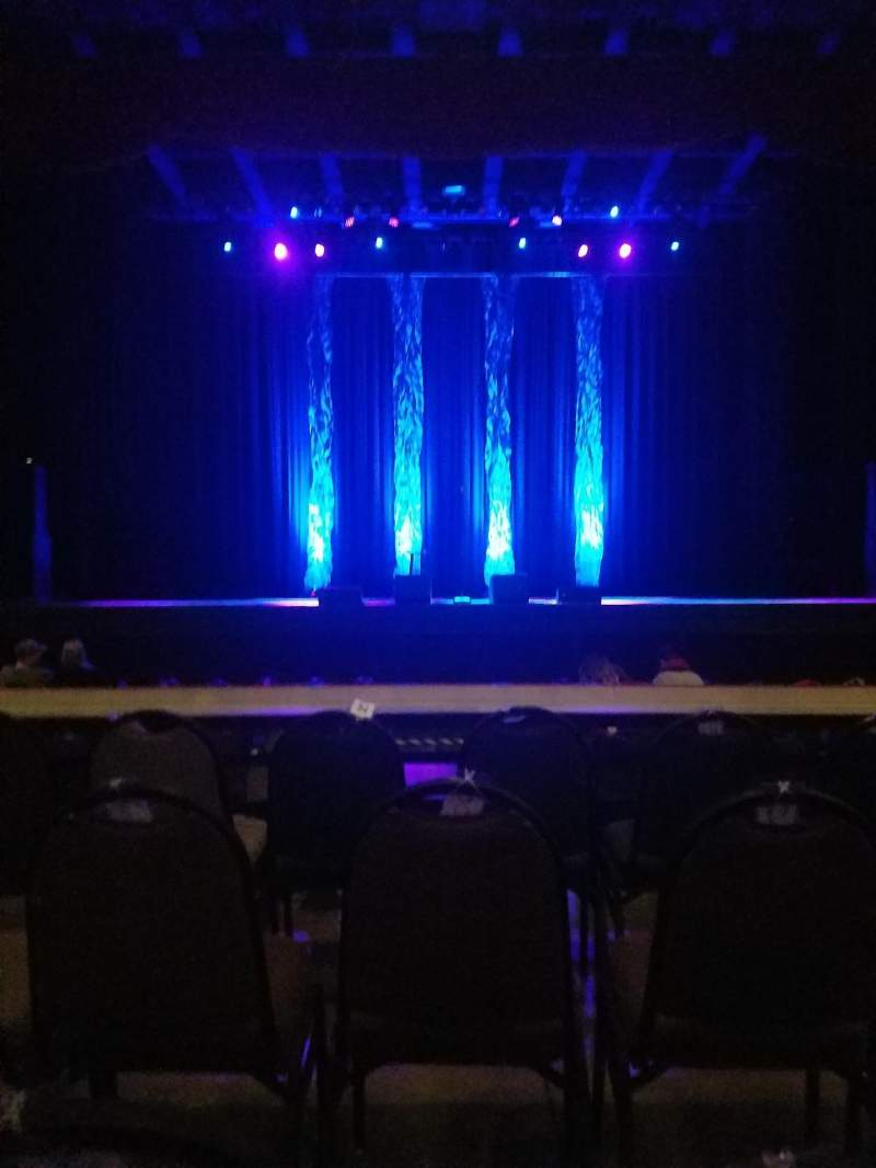 Seating view for The Pageant Section A Row D Seat 8