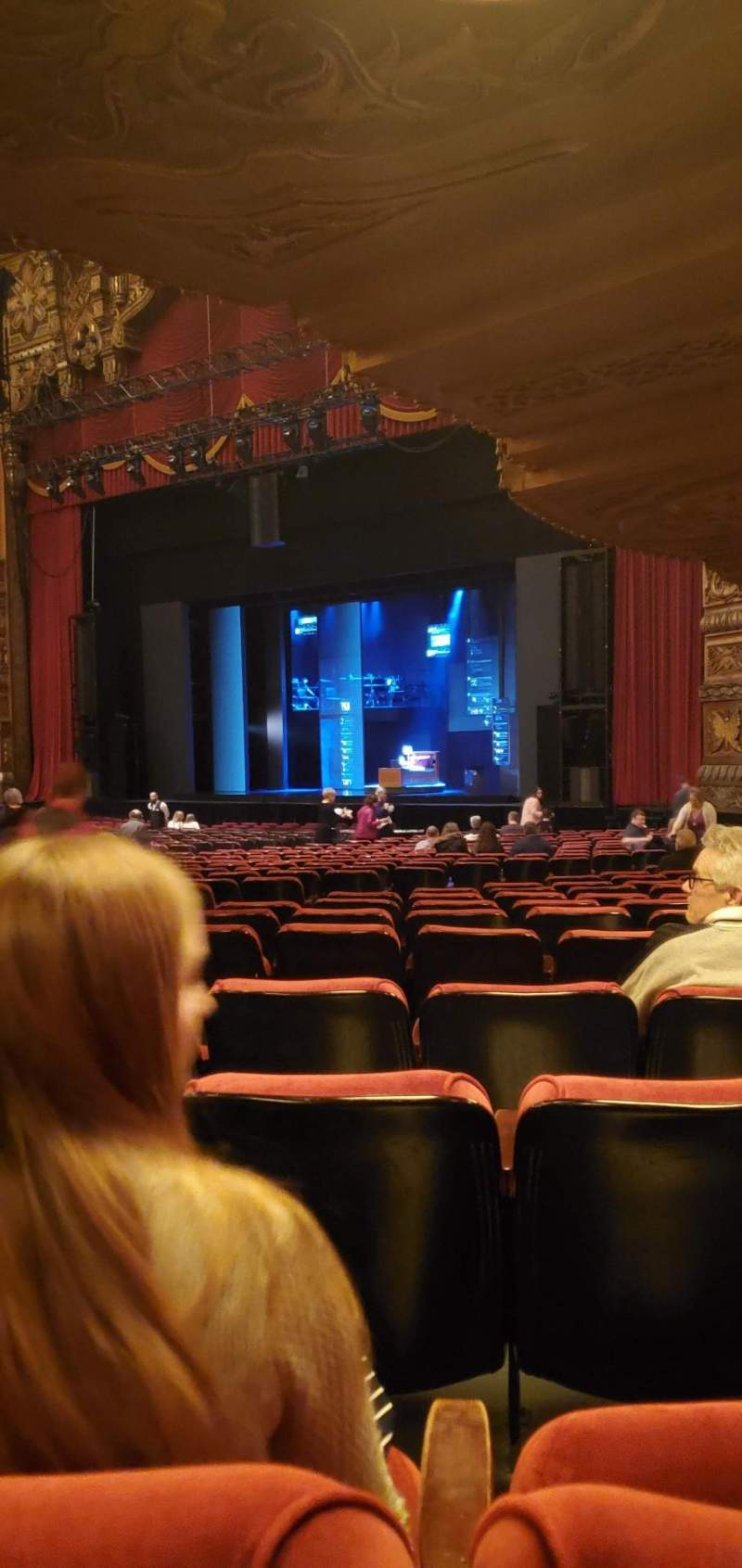 Seating view for The Fabulous Fox Theatre (St. Louis) Section Orchestra 6 Row z Seat 48