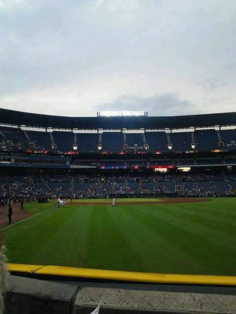 Seating view for Turner Field Section 135L Row 13 Seat 107