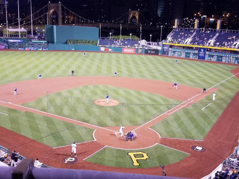 Seating view for PNC Park Section 217 Row A Seat 5