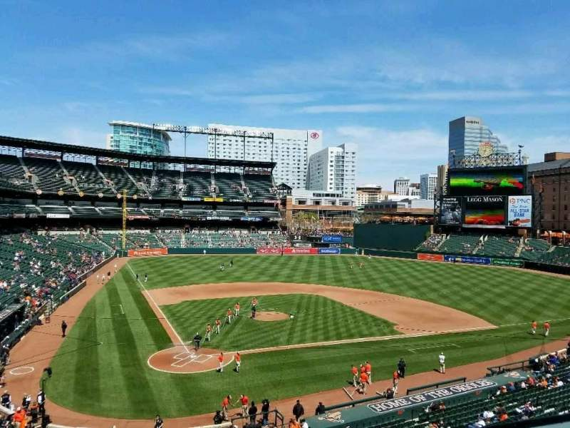 Oriole Park at Camden Yards, section: 230, row: 1, seat: 6