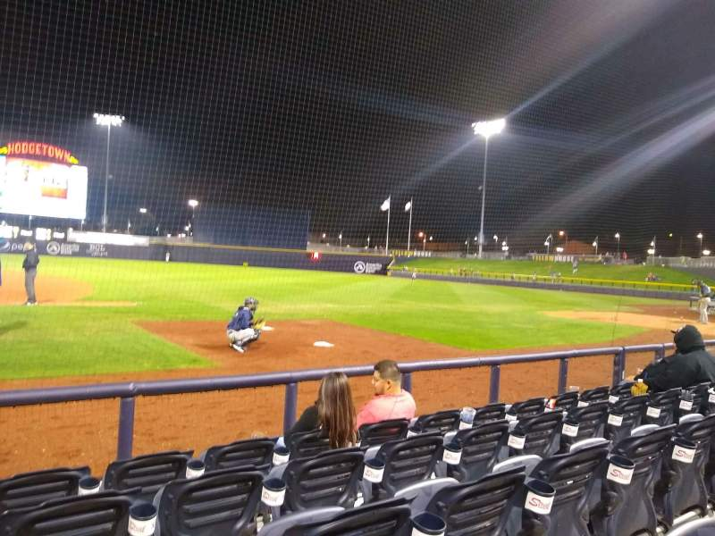 Hodgetown, section 116, home of Amarillo Sod Poodles