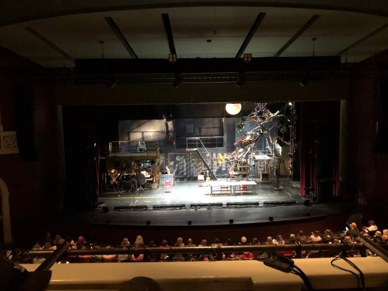 Seating view for Templeton-Blackburn Alumni Memorial Auditorium Section BALCCQ Row C Seat 9
