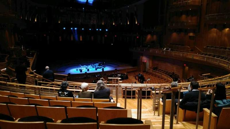 The Music Center at Strathmore, section: Promenade Left, row: F, seat: 3