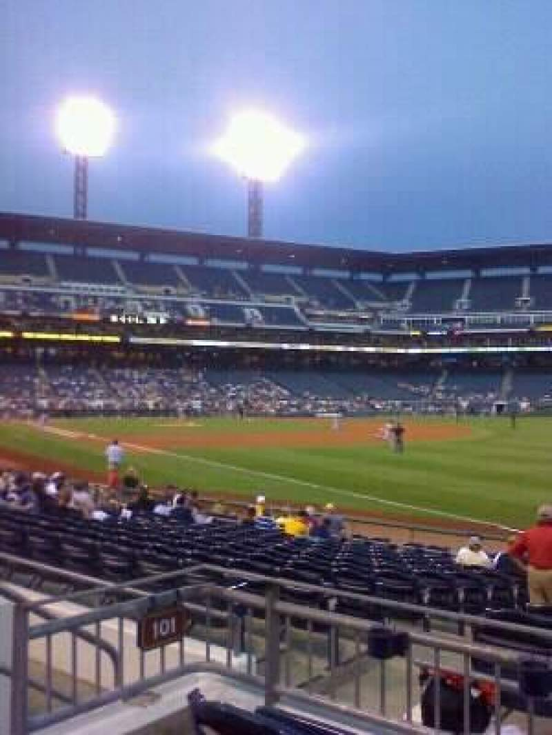 Seating view for PNC Park Section 101