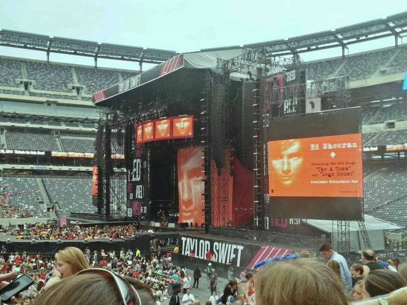 Seating view for MetLife Stadium Section 112 Row 15 Seat 15