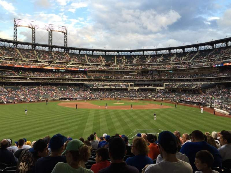 Seating view for Citi Field Section 137 Row 13 Seat 7