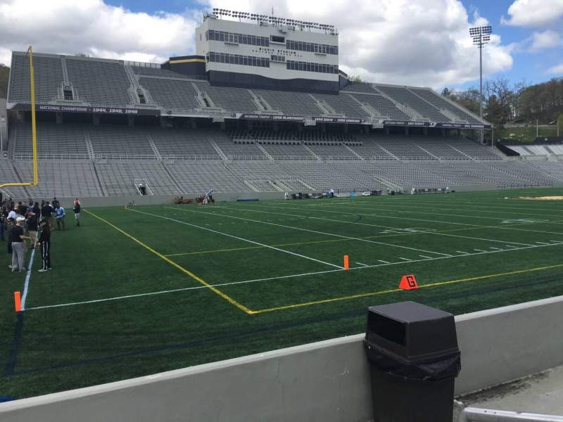 Seating view for Michie Stadium Section 32 Row C Seat 17