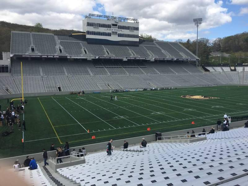 Seating view for Michie Stadium Section 32 Row CC Seat 17