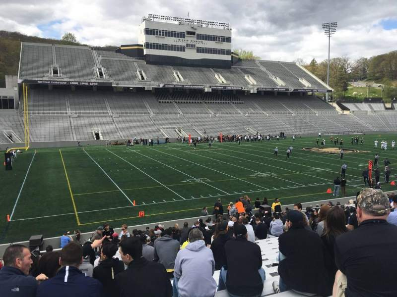 Seating view for Michie Stadium Section 32 Row X Seat 14