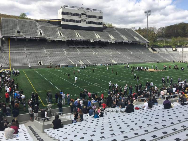 Seating view for Michie Stadium Section 32 Row X Seat 17