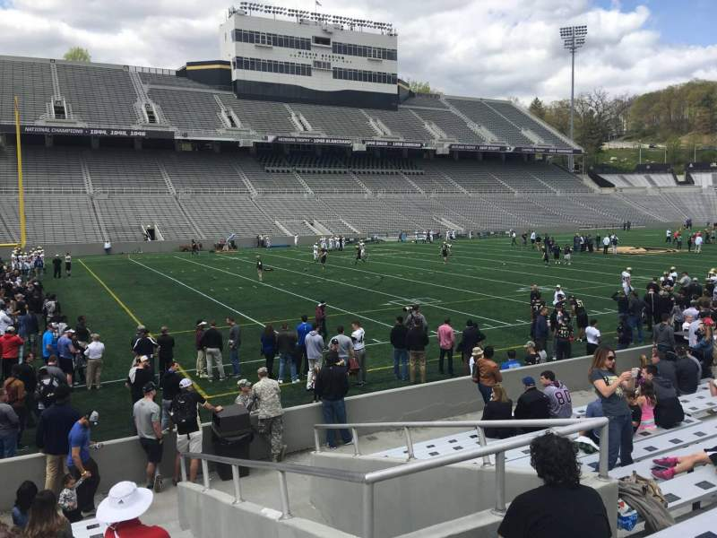 Seating view for Michie Stadium Section 32 Row M Seat 17