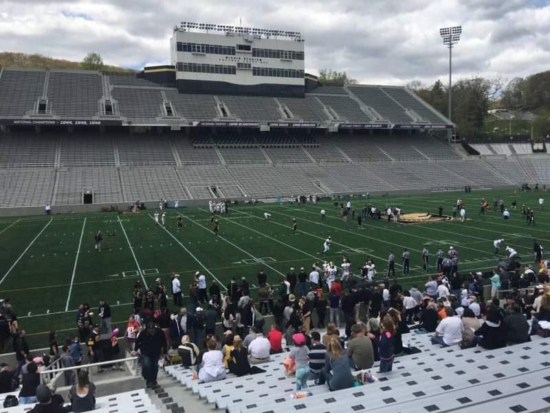 Seating view for Michie Stadium Section 31 Row X Seat 17