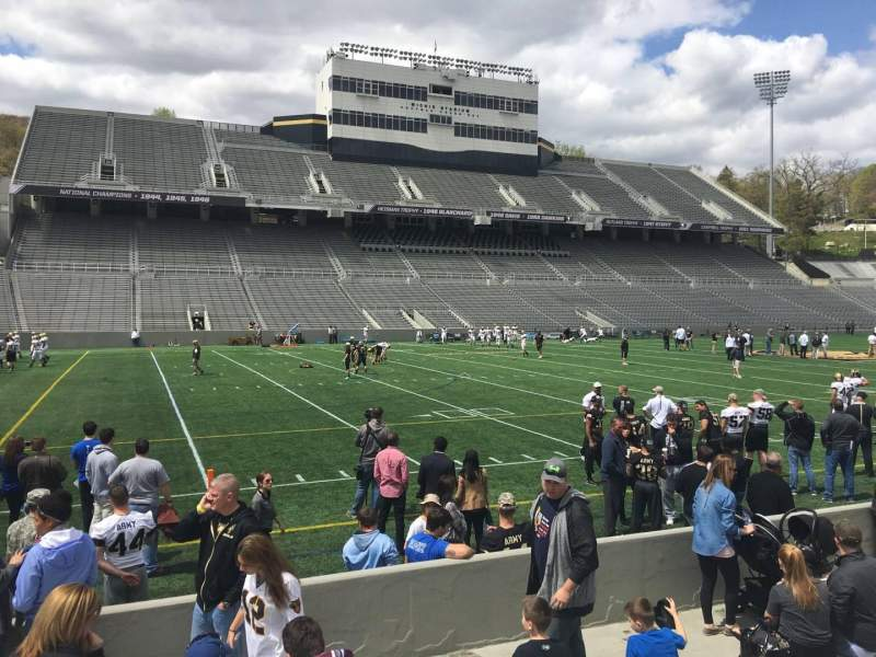 Seating view for Michie Stadium Section 31 Row F Seat 4