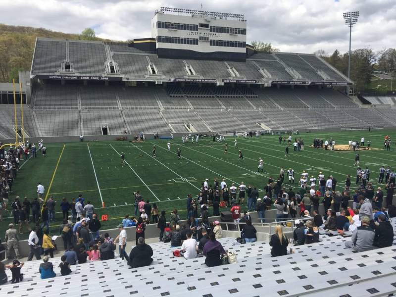 Seating view for Michie Stadium Section 31 Row X Seat 4