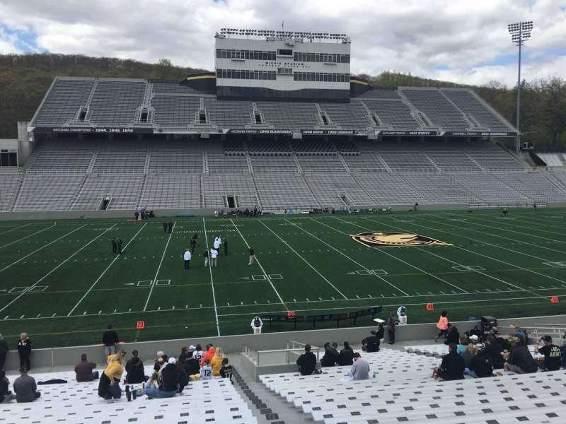 Seating view for Michie Stadium Section 30 Row CC Seat 17