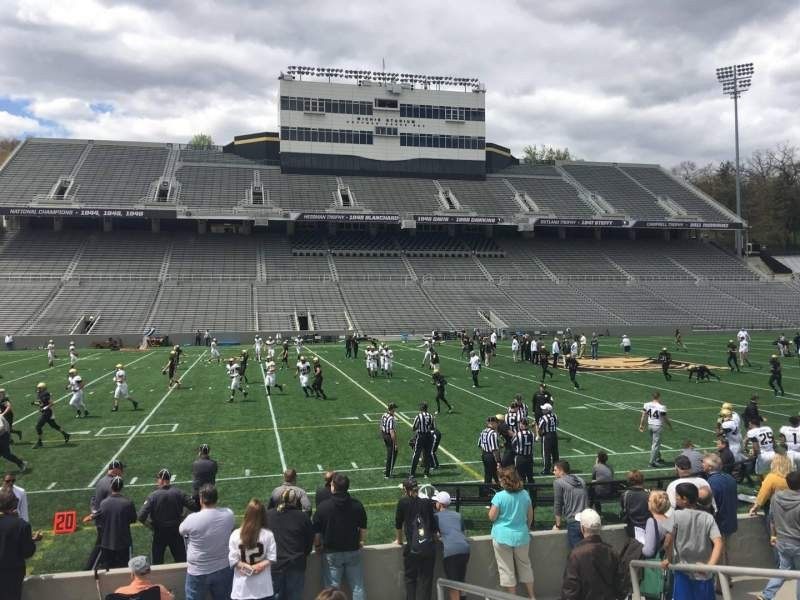 Seating view for Michie Stadium Section 30 Row M Seat 17