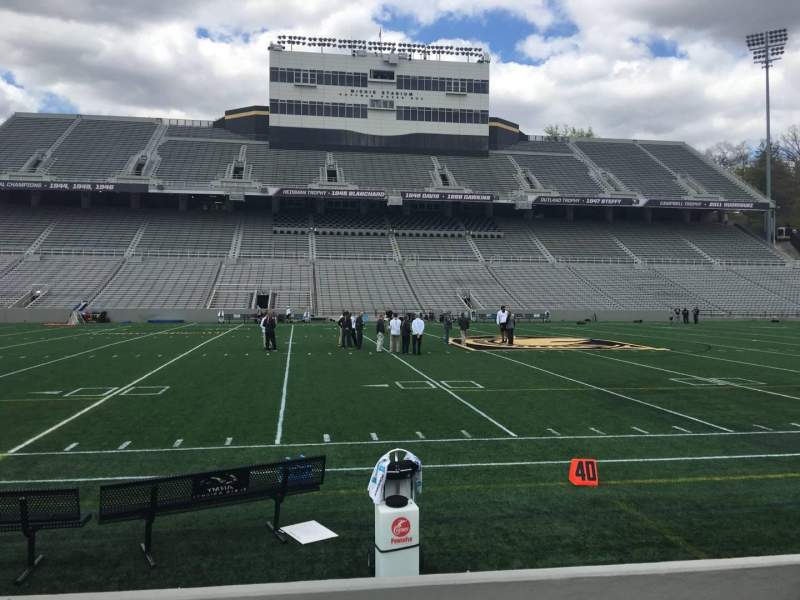 Seating view for Michie Stadium Section 29 Row C Seat 27
