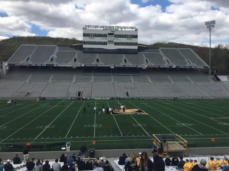 Seating view for Michie Stadium Section 29 Row CC Seat 17