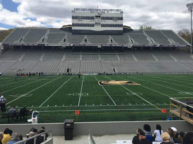 Seating view for Michie Stadium Section 29 Row M Seat 17