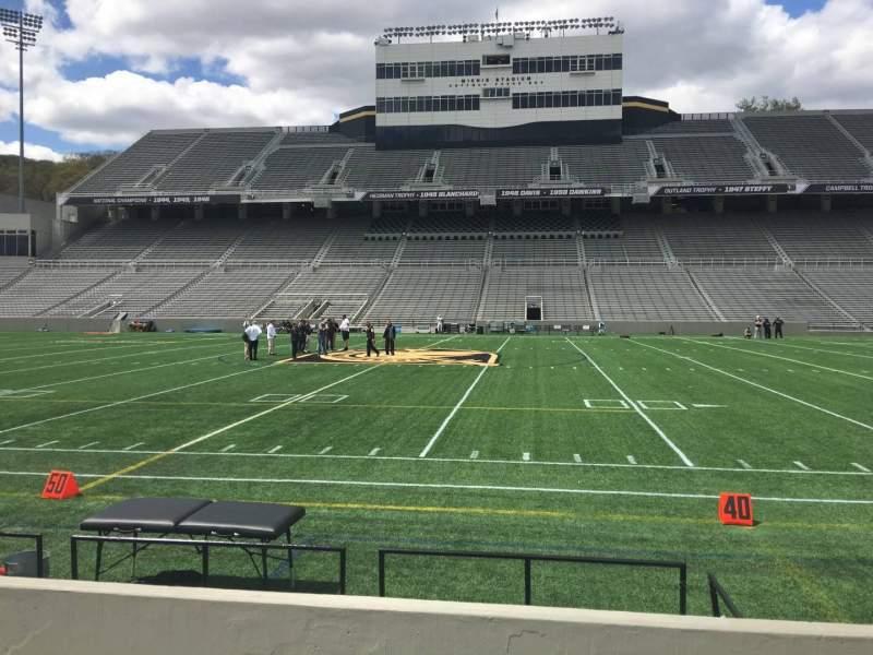 Michie Stadium, section: 28, row: C, seat: 17