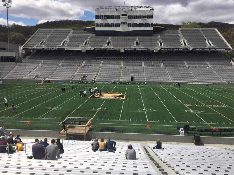 Seating view for Michie Stadium Section 28 Row CC Seat 17