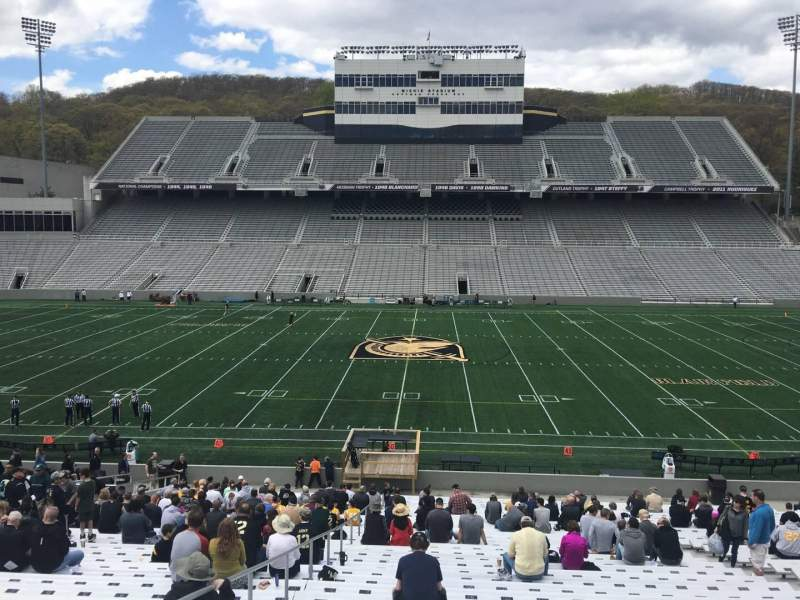 Seating view for Michie Stadium Section 28 Row KK Seat 27