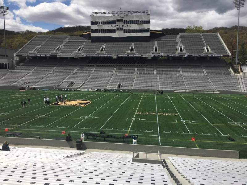 Seating view for Michie Stadium Section 27 Row CC Seat 17