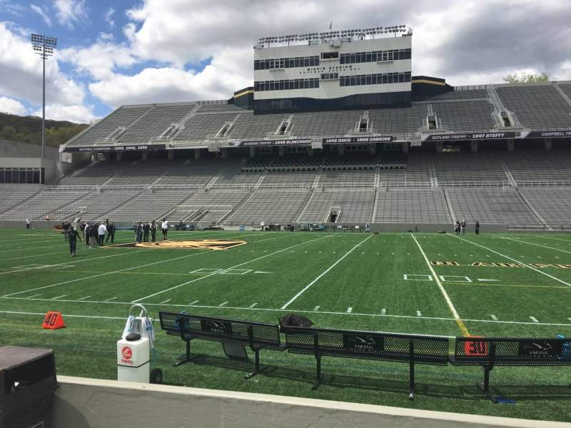Seating view for Michie Stadium Section 27 Row C Seat 27