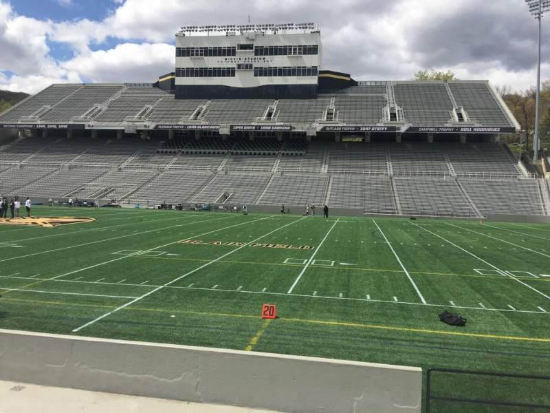 Seating view for Michie Stadium Section 26 Row C Seat 17