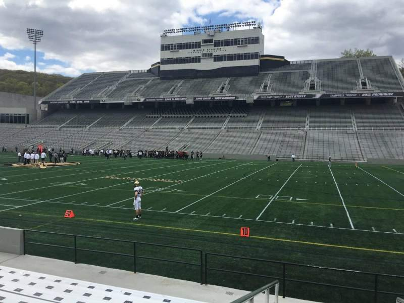 Seating view for Michie Stadium Section 26 Row K Seat 14