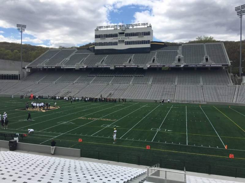 Seating view for Michie Stadium Section 26 Row X Seat 11