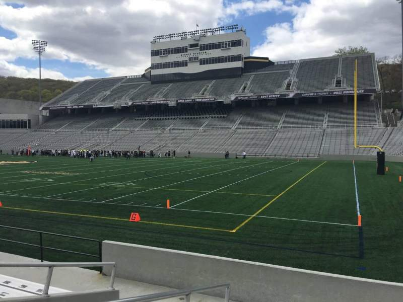 Seating view for Michie Stadium Section 25 Row G Seat 14