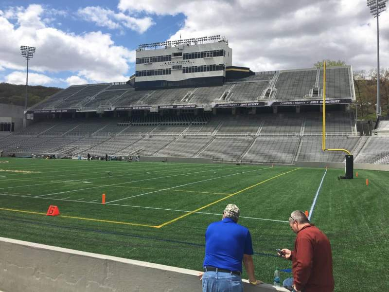 Seating view for Michie Stadium Section 25 Row C Seat 11