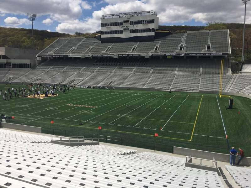 Seating view for Michie Stadium Section 25 Row CC Seat 17
