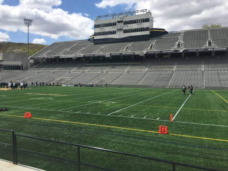 Seating view for Michie Stadium Section 25 Row C Seat 27