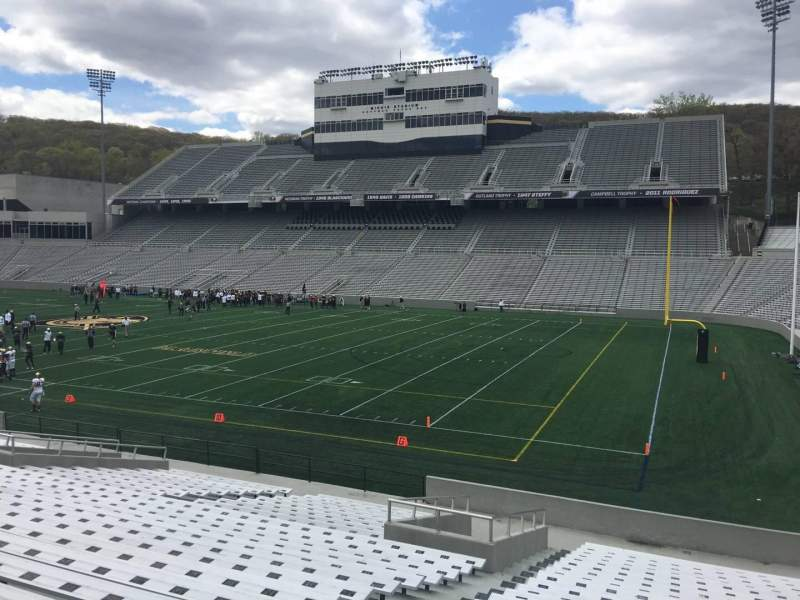Seating view for Michie Stadium Section 25 Row X Seat 11