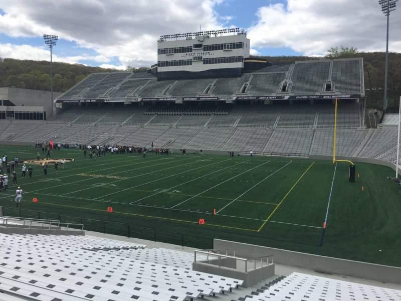 Michie Stadium, section: 25, row: X, seat: 11