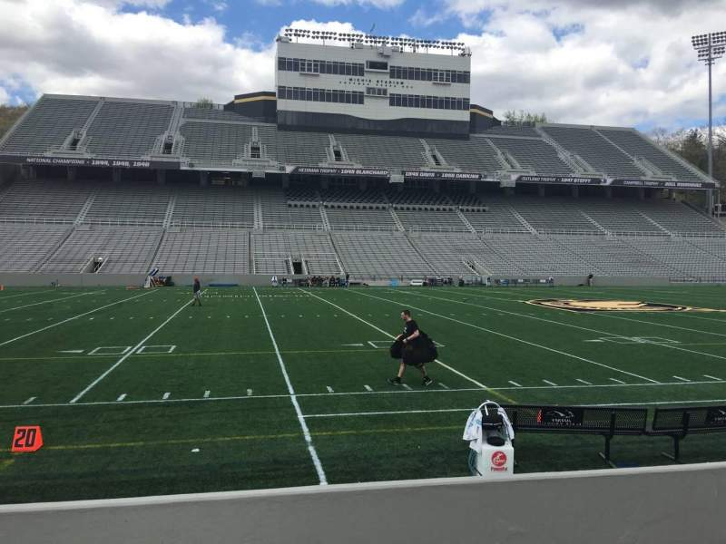 Seating view for Michie Stadium Section 30 Row C Seat 17