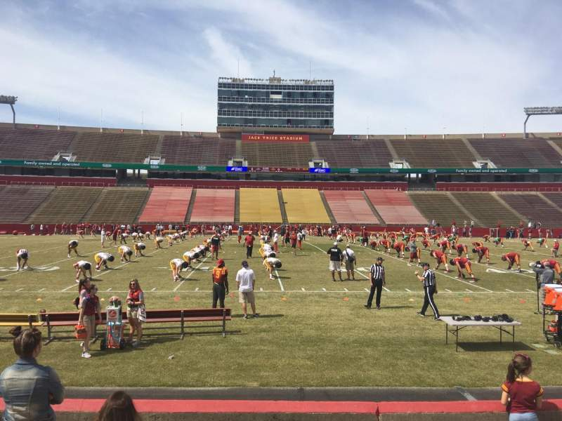 Seating view for Jack Trice Stadium Section 34 Row 7 Seat 7
