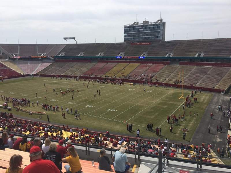 Seating view for Jack Trice Stadium Section Z Row 11 Seat 42