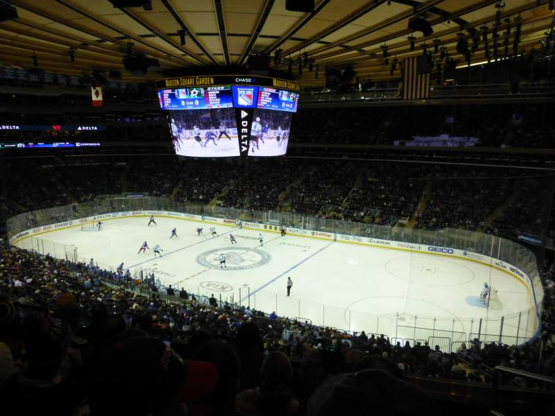 Seating view for Madison Square Garden Section 213 Row 5 Seat 18